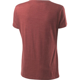 Houdini Activist Message - T-shirt manches courtes Femme - rouge